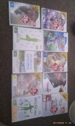 Nintendo Wii + 10 Games + Wii Fit Board $350 ONO