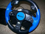 X-logic 'Super Thunder' steering wheel with pedals