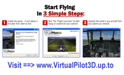 VirtualPilot3D - Best Flight Simulator & Airplane Games
